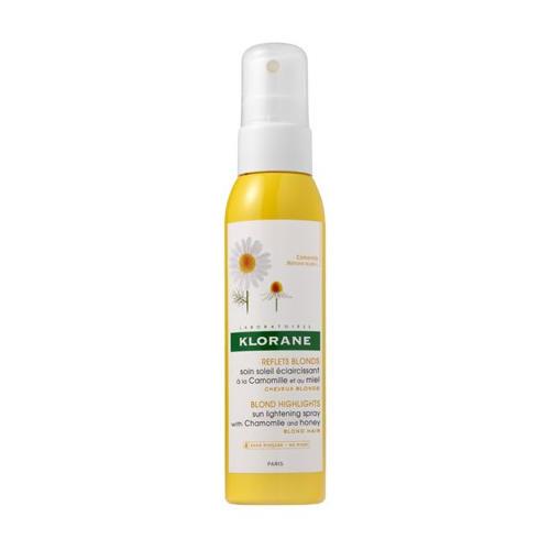 Klorane Спрей для волос с экстрактом ромашки и меда 125 мл (Highlights)