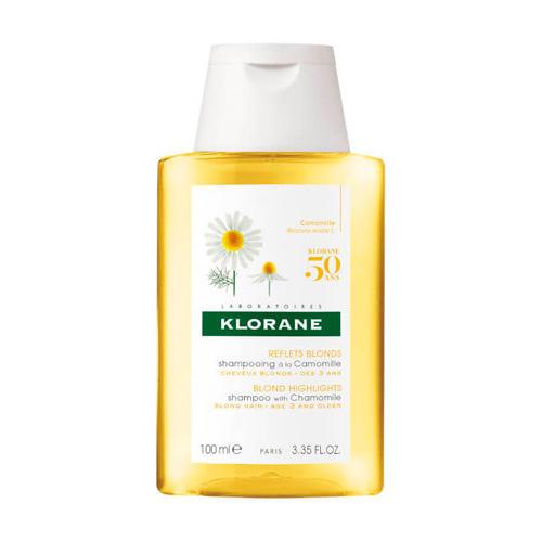 Klorane Шампунь с Ромашкой для светлых волос 100 мл (Highlights)