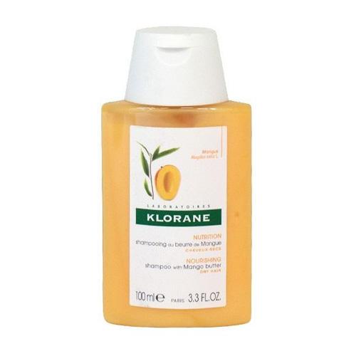 Шампунь с маслом Манго для сухих, поврежденных волос 100 мл (Klorane, Dry Hair) шампунь klorane с маслом манго для сухих и поврежденных волос 200 мл