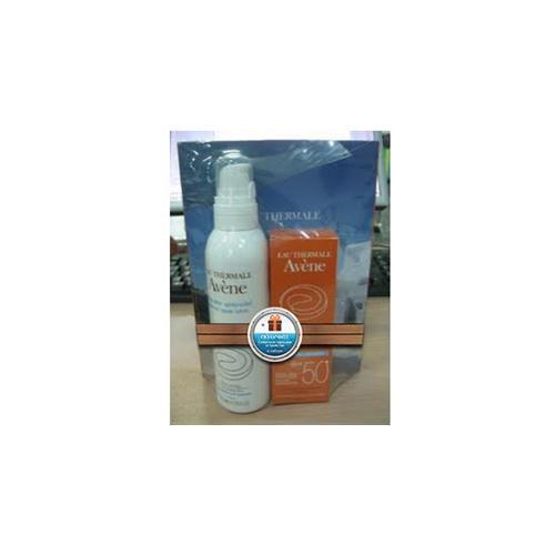 Солнцезащитный Набор Крем SPF 50+,50 мл + Молочко после солнца 200мл + Зарядка для телефона (Фотозащитные средства) (Avene)