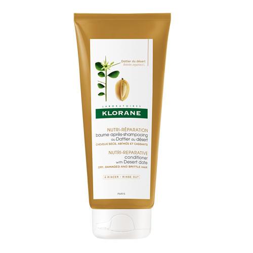 Klorane Питательный бальзам-ополаскиватель с маслом Финика пустынного, 200 мл (Dry Hair)