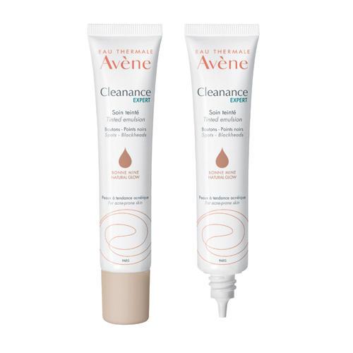 Купить Avene Себорегулирующая эмульсия Клинанс Эксперт для проблемной кожи с тонирующим эффектом 40 мл (Avene, Cleanance), Франция