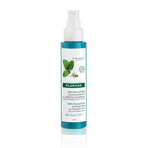 Купить Klorane Освежающая дымка для волос с экстрактом водной мяты 100 мл (Klorane, Mint), Франция