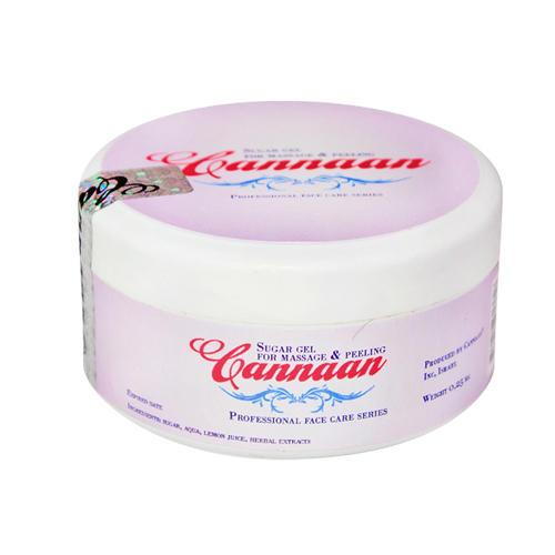 Cannaan Гель Сахарный для массажа лица и зоны декольте 250 гр (Cannan Spa)