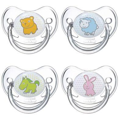 Силиконовая круглая пустышка Transparent, 06 мес (Canpol, Пустышки) canpol babies силиконовая зубная щетка от 6 мес canpol babies в ассорт