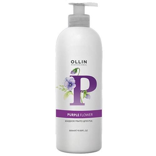 Ollin Professional Жидкое мыло для рук Purple Flower, 500 мл (Ollin Professional, Техническая линия)