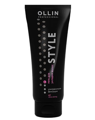 Купить Ollin Professional Гель для укладки волос ультрасильной фиксации Gel Ultra Strong 200 мл (Ollin Professional, Style), Россия