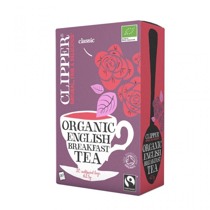 Черный Английский завтрак Органик (20 пак.) (Clipper, Black tea) черный эрл грей органик 20 пак clipper black tea
