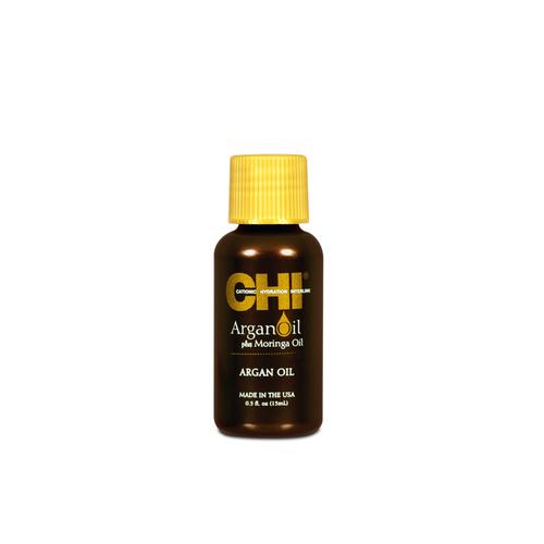 Купить Chi Масло для волос с экстрактом масла арганы и дерева маринга, 15 мл (Chi, Argan Oil), США