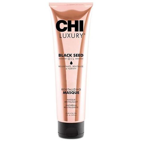 Купить Chi Маска для волос Luxury с маслом семян черного тмина «Оживляющая», 147 мл (Chi, Luxury), США