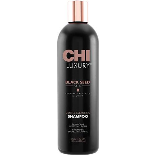 Chi Шампунь Luxury с маслом семян черного тмина для мягкого очищения волос, 355 мл (Chi, Luxury) chi luxury black seed oil curl defining cream gel
