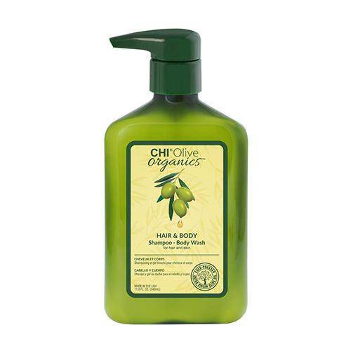 Купить Chi Шампунь Olive Organics для волос и тела, 340 мл (Chi, Olive Nutrient Terapy), США