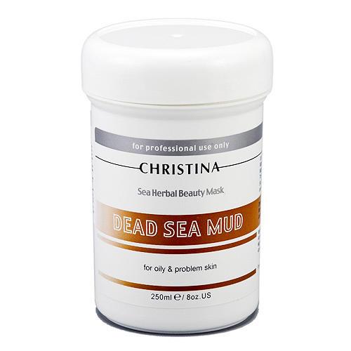 Dead Sea Mud Mask Грязевая маска для жирной кожи 250 мл (Masque) (Christina)