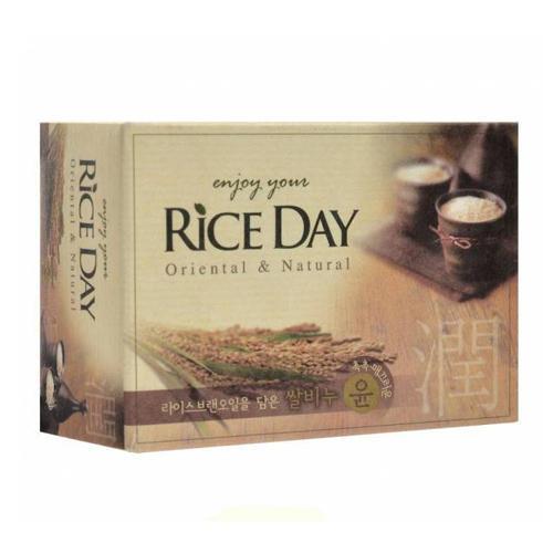 Cj Lion Riceday Мыло туалетное с экстрактом рисовых отрубей 100 г ()