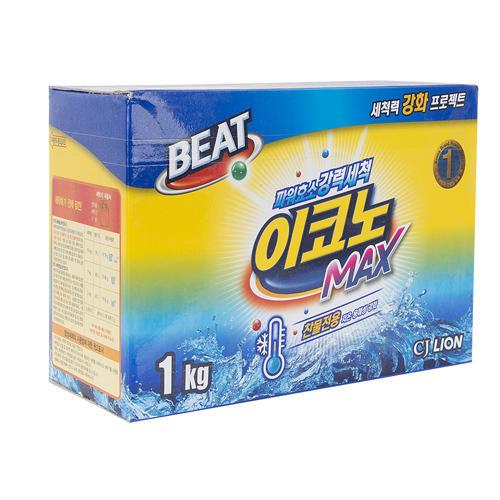 Beat Econo max Стиральный порошок 1 кг (Стирка Cj Lion)