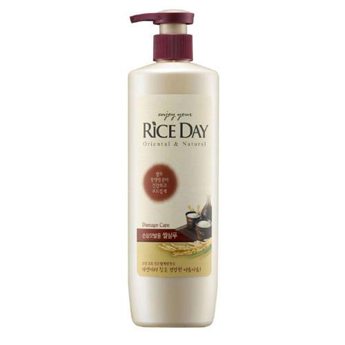 Cj Lion Riceday Шампунь восстанавливающий для повреждённых и ослабленных волос волос 550 мл ()