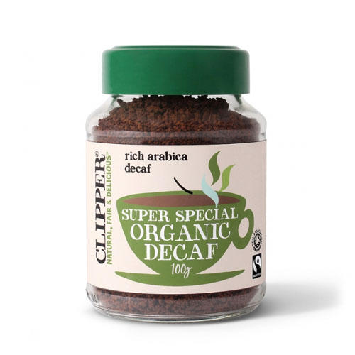 Кофе растворимый Арабика Органик декофеинизированный 100 гр (Clipper, Coffee) clipper растворимый шоколад питьевой 250 г