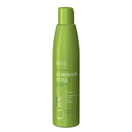 Купить Estel Бальзам Основной уход для всех типов волос 250 мл (Estel, Curex Classic), Россия
