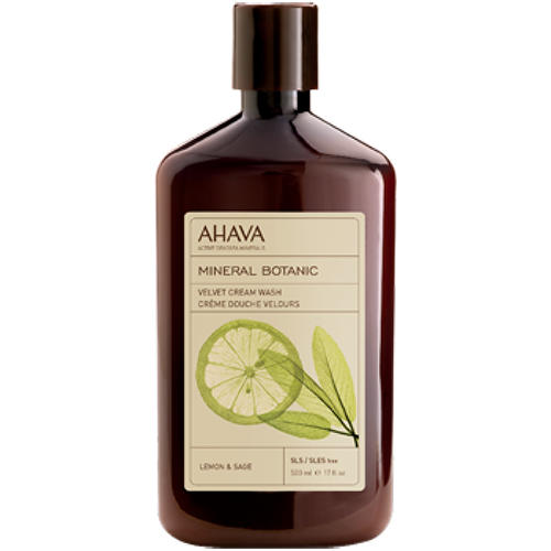 Ahava Бархатистое жидкое крем-мыло  лимон и шалфей 500 мл (Mineral botanic)