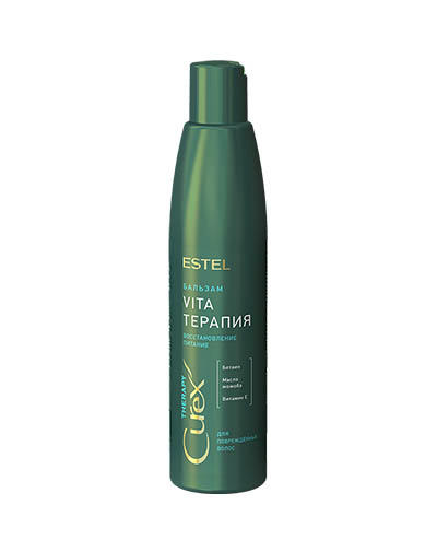цены на Бальзамкрем для сухих, ослабленных и поврежденных волос Curex Therapy 250 мл (Estel, Curex Therapy)  в интернет-магазинах