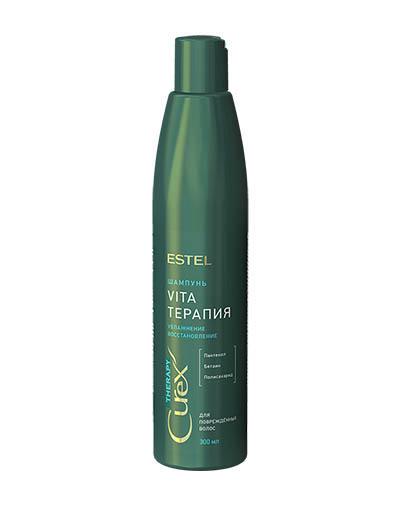 Шампунь для сухих, ослабленных и поврежденных волос Curex Therapy, 300 мл (Estel, Curex Therapy) estel curex therapy шампунь для сухих ослабленных и поврежденных волос 300 мл