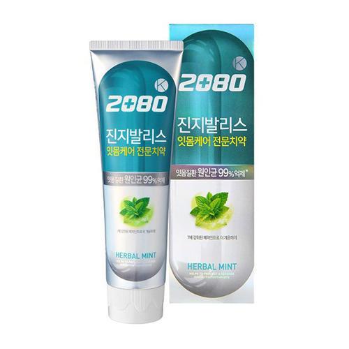 DC 2080 Зубная паста, антибактериальная, Голубая с гинко 100 г (Kerasys, Dental Clinic) зубная паста восточный чай с гинго 130 гр kerasys