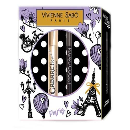 Подарочный набор (тушь Cabaret premiere т. 01 Карандаш для глаз Regard Сoquet т. 301) (Vivienne sabo, Наборы) недорого