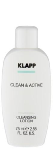 Klapp Очищающее молочко, 75 мл (Klapp, Clean & active) klapp микропилинг clean