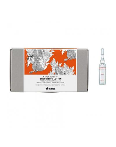 Энергетический сезонный суперактивный лосьон, 12x6 мл (Davines, Energizing) средство для лечения волос и кожи головы