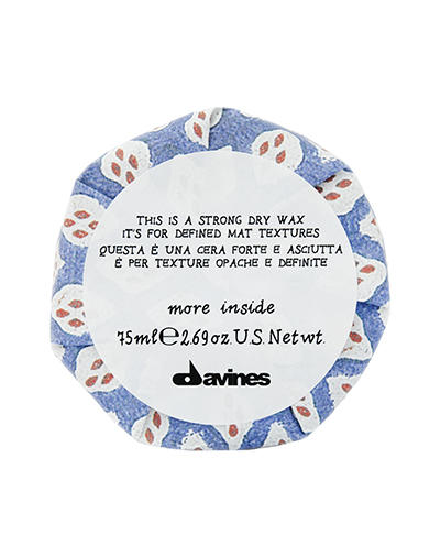 Купить Davines Сухой воск для текстурных матовых акцентов, 75 мл (Davines, Средства для укладки), Италия