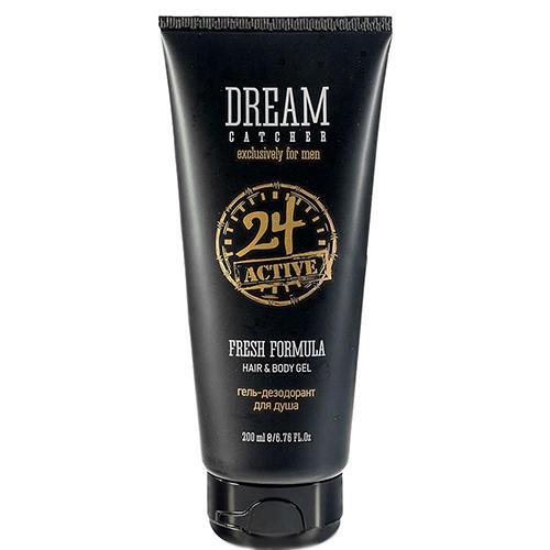 Купить со скидкой Dream catcher Гель- дезодорант для душа Fresh Formula 24 Active Hair&Body Gel, 200 мл (Dream catcher