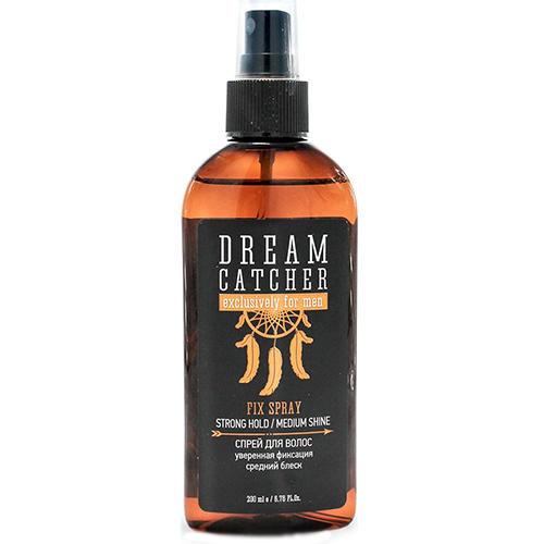 Dream catcher Спрей для волос уверенная фиксация средний блеск Fix Spray, 200 мл (Dream catcher, Стайлинг)