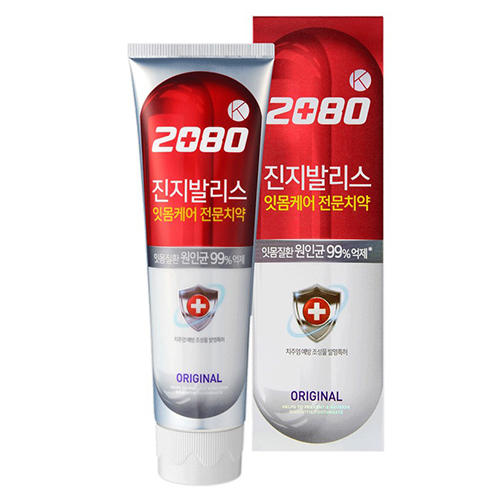 DC 2080 Зубная паста, антибактериальная, Розовая с гинко 100 г (Kerasys, Dental Clinic)