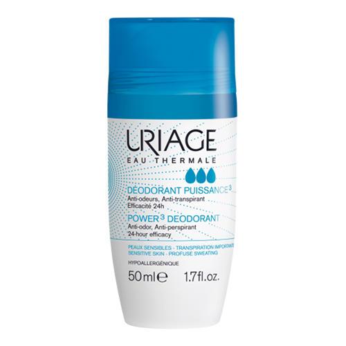 Дезодорант тройного действия ролик 50 мл (Uriage, Гигиена Uriage) дезодорант uriage tri actif купить