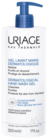 Uriage Дерматологический гель для очищения рук 500 мл (Uriage, Гигиена Uriage), Франция  - Купить