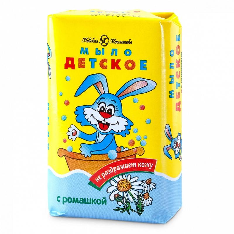 Купить НЕВСКАЯ КОСМЕТИКА Детское туалетное мыло Ромашка 90 г (НЕВСКАЯ КОСМЕТИКА, Мыло)