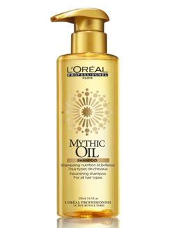 Митик Оил Питательный шампунь для всех типов волос 250мл (Loreal Professionnel, Mythic Oil)