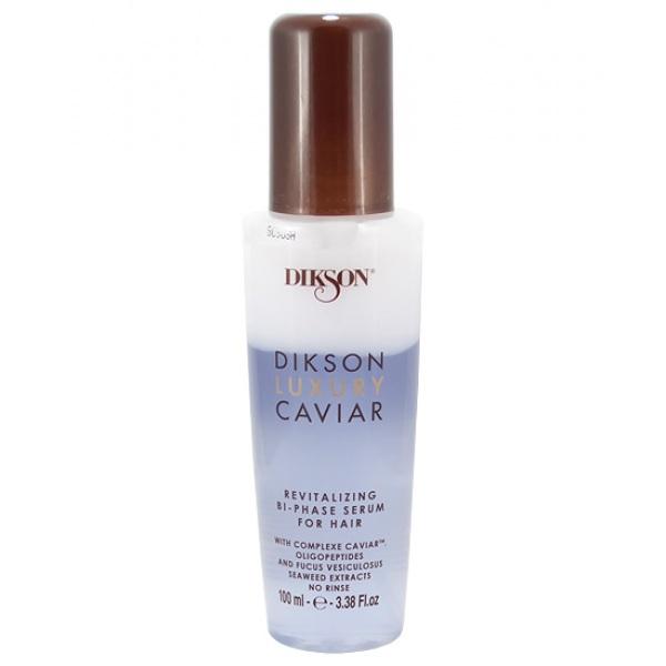 Dikson Ревитализирующая двухфазная сыворотка с Complexe Caviar 100 мл (Dikson, Luxury Caviar) dikson кондиционер complexe caviar conditioner ревитализирующий и наполняющий 280 мл