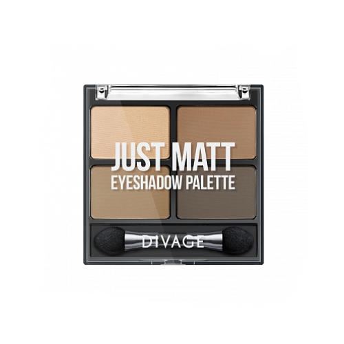 Палетка Теней Для Век Palettes Eye Shadow Just matt (Divage, Тени) для глаз divage palettes eye shadow basics