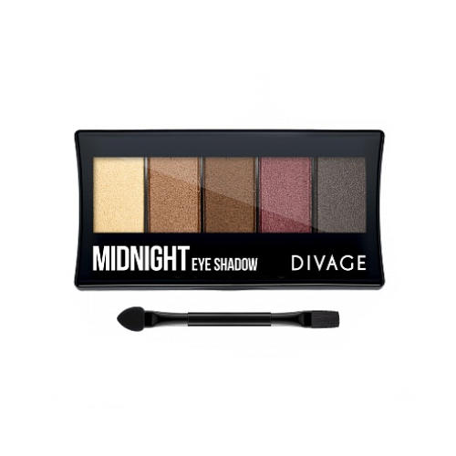 Divage Палетка Теней Для Век Palettes Eye Shadow Midnight (Divage, Тени) палетка теней для бровей еyebrow shadow