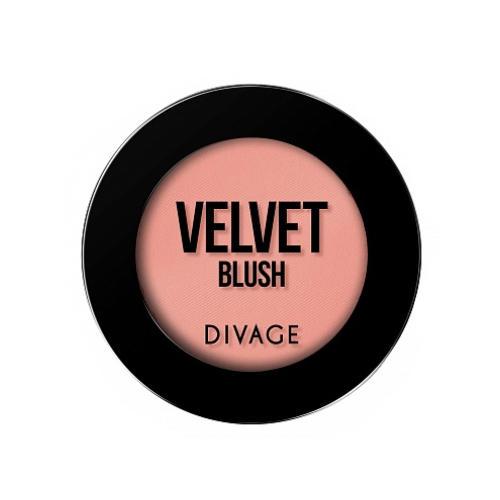 Румяна Компактные Velvet (Divage, Румяна)