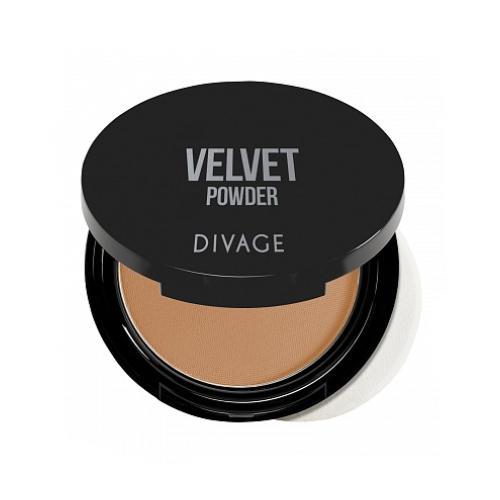 Пудра Компактная Velvet (Divage, Пудра) divage velvet пудра компактная 5206 кремовый 9 гр