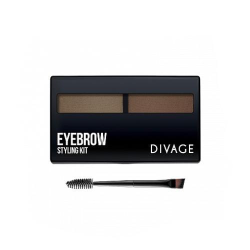 цены Divage Eyebrow Styling - Набор Набор для моделирования формы бровей (Divage, Брови)