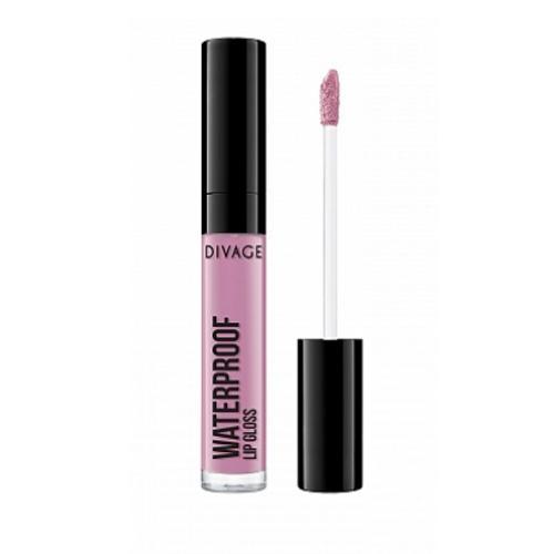 Блеск Для Губ Водостойкий Waterproof Lip Gloss 5 мл (Divage, )