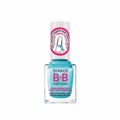 Средство для защиты кожи вокруг ногтя Pure manicure peel off formula (Divage, Ногти) концентрат divage bb pure manicure peel off formula 12 мл