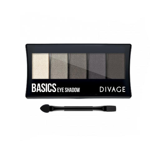 Палетка Теней Для Век Palettes Eye Shadow Basics (Divage, Тени) для глаз divage palettes eye shadow basics