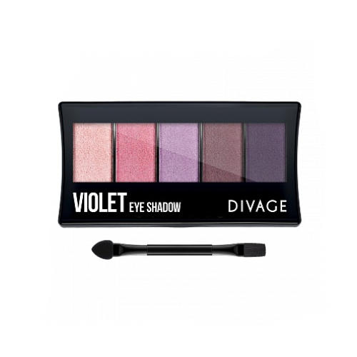 Палетка Теней Для Век Palettes Eye Shadow Violet (Divage, Тени) для глаз divage palettes eye shadow basics