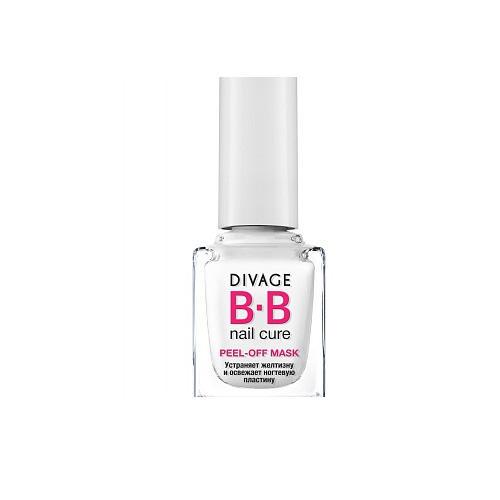 Divage Маска для ногтей Whitening nail peel-off mask (Divage, Ногти)