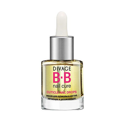 Масло для кутикулы и ногтей питающее и увлажняющее Cuticle nail drops (Divage, Ногти) недорого