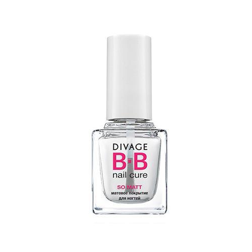 Матовое покрытие для ногтей So matt (Divage, Ногти) divage матовое покрытие для ногтей so matt bb